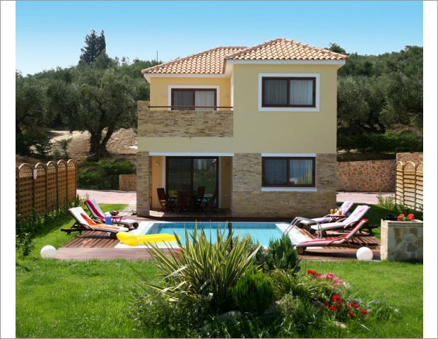 One of our Villas in Zante