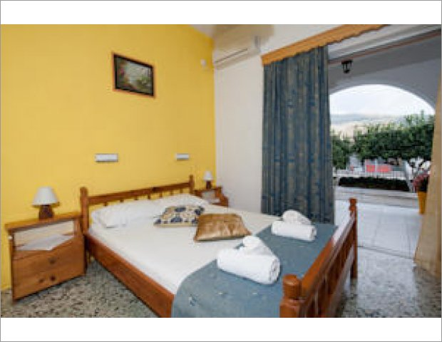 Studios Nikos is traditional apartments and studios in Lake of Keri.The complex is organized into studios, triple rooms and spacious family rooms that can accommodate up to five persons.Your stay here will surely be happy and carefree, as the hospitality of the owners will conquer you.The terraces and courtyards of the rooms, the traditional band gardens give a good looking feeling.Just 500 meters from the rooms is the beach of Keri Lake and many fish restaurants and shops.Keri village is easy accessible, just 15 kilometers from the city of Zakynthos, a magnet for those seeking relaxing holidayó close to nature and sea.