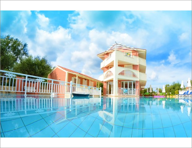 The 3 star Zante Pantheon Hotel is one of the most popular resorts of Tsilivi, just 6km from Zakynthos Town in the arms of olive groves in the area. Restaurant, outdoor pool and children facilities are available.