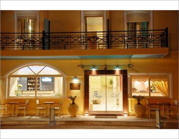PLAZA HOTEL ZAKYNTHOS NIGHTVIEW