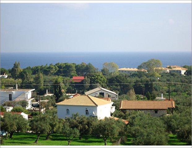Valentino Apartments next to Ionian Sea