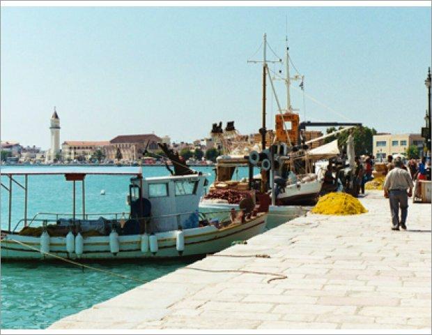 Zakynthos port