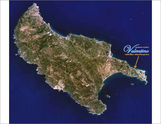 Map of Zakynthos with Valentino Apartments!