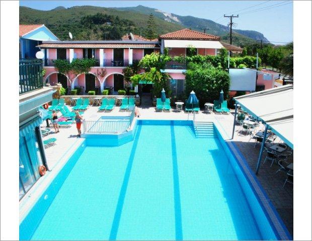 Sofias hotel swimming pool Zakynthos Kalamaki